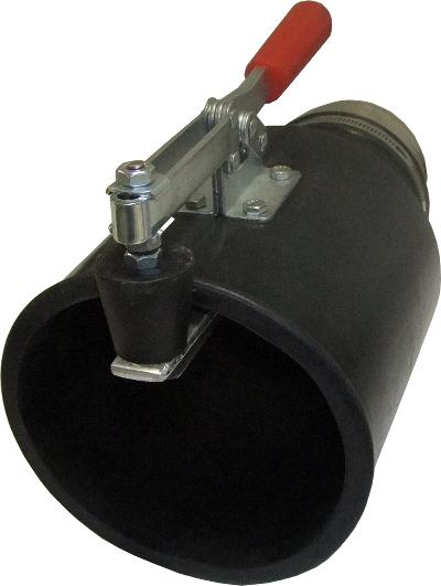 Насадка резиновая круглая с зажимом, на шланг D=100 мм Nordberg AN100RC